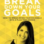 Feeling overwhelmed with everything there is to do, all the time? Ruth shares some super practical tips for how to break down your biggest goals into a working action plan that actually helps you to get things done and gets you to where you want to go. #doitscaredpocast #ruthsoukup #doitscaredmovement #productivity #loveyourlife