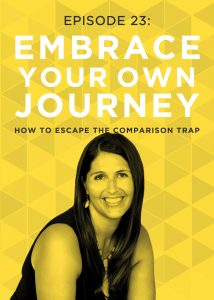 Raise your hand if you've ever fallen into the Comparison Trap? 🙋♀️ But there IS a way to avoid the comparison trap that brings so many people down. Don't miss these three very practical techniques you can try the next time you feel yourself getting lost down that comparison trail! #doitscaredpodcast #doitscared #ruthsoukup #loveyourself