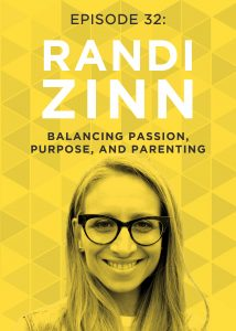 Have you ever felt like you're supposed to give up your sense of self after having kids, like being a parent means putting your goals and dreams on the back burner? If so, this episode of the Do It Scared podcast w/ Randi Zinn is for you!