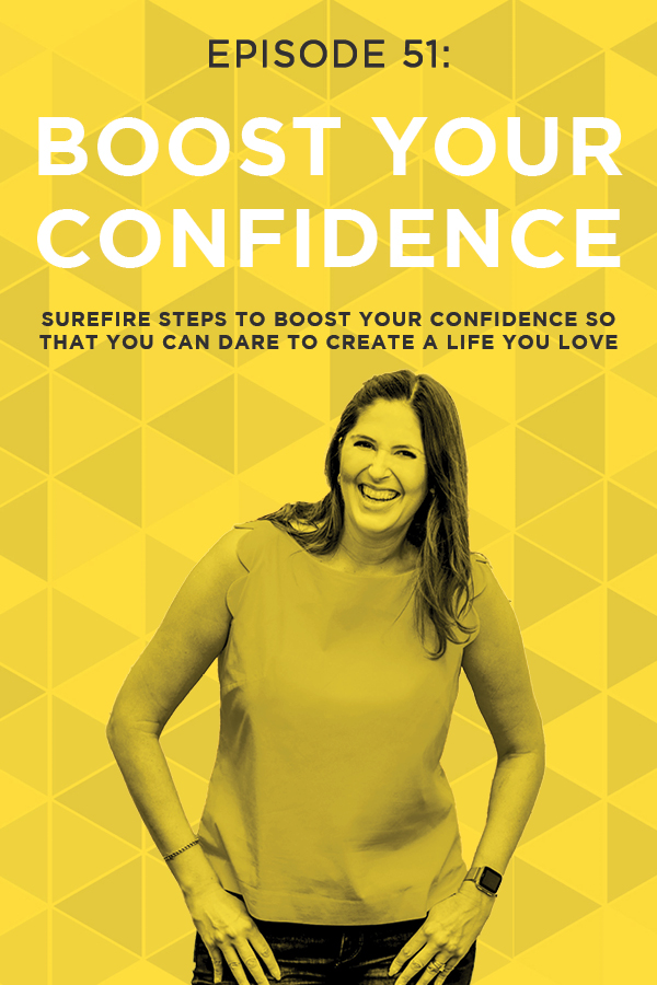 "How would it feel to have the confidence to pursue your biggest goals and dreams without ever questioning whether you ""should"" or whether you would fail? Building your confidence is the surest way to conquer your fears, do it scared, and create a life you absolutely love! Don't miss these five concrete steps you can take to start improving your confidence, TODAY!"