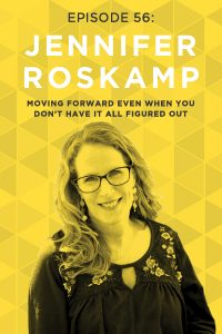 What would you do if you were a stay-at-home mom of nine, and your husband lost his job? Jennifer Roskamp's answer was to turn her hobby blog into a six-figure business! Tune in to hear her wisdom on facing challenges head-on.