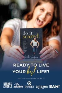 Ever feel like you are sitting on the sidelines of your own life, afraid to jump in and actually go after those big goals and dreams wholeheartedly? Do It Scared® is the book that shows you how to face your fears and overcome the obstacles standing in your way so that you can create a life you love!