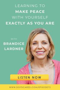 Brandice Lardner, founder of Grace Filled Plate, shares how she went from depression, an eating disorder, and mindset issues to helping others in this episode of the Do It Scared Podcast. #mindset #depression #inspiration #motivation