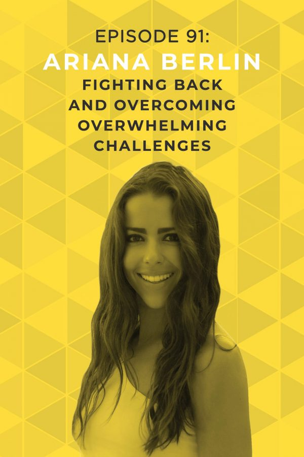 Have you ever run into a challenge that felt too massive to overcome? Ariana Berlin understands: her Olympic gymnast dreams were shattered in a devastating car accident when she was just 14. Tune in to learn how she took control of her own destiny! #olympicdreams #fullout #doitscared #arianaberlin