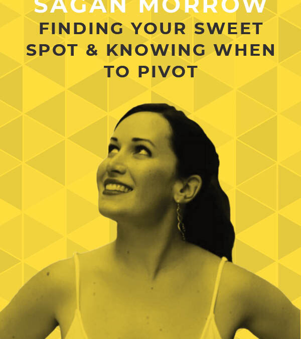 Ep. 111: Finding Your Sweet Spot & Knowing When to Pivot With Sagan Morrow