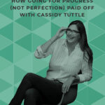 Six months ago, Cassidy Tuttle came on the show to Get Ruthed! Now she's back and ready to talk about the amazing changes she's seen in her business. Tune in to learn about the value of going for progress, not perfection! #getruthed #doitscared #cassidytuttle #progressnotperfection
