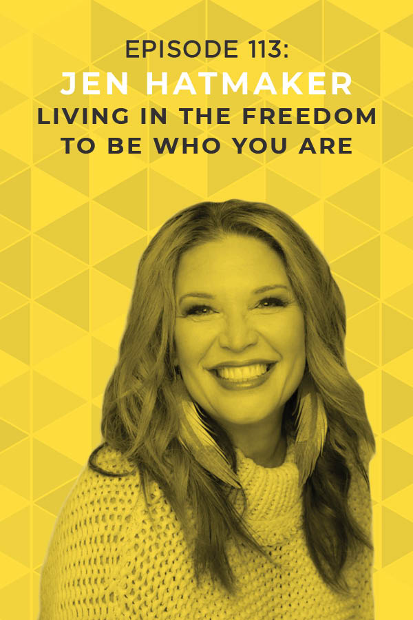 Are you ready to let go of wearing masks and become your true self? Jen Hatmaker is passionate about helping women find the courage to just be themselves, and this inspirational episode will empower you to do exactly that. #doitscared #jenhatmaker